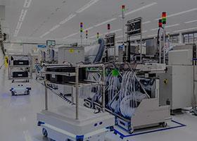 wireless technology, robotics, production automation