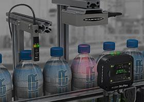 water bottles, camera sensor, vision products